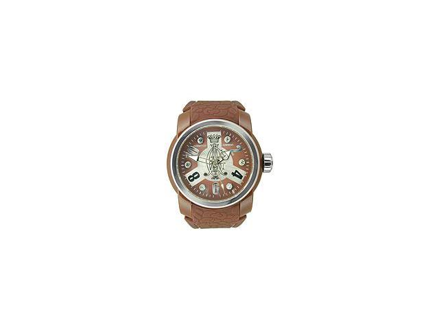 Christian Audigier Intensity Collection Circuit Brown Dial Womens watch #INT316