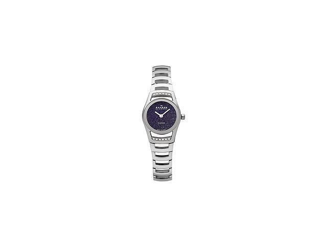 Skagen Swiss Black Label Blue Goldstone Dial Women's watch #982SSXN