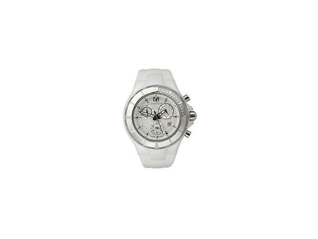 Technomarine Cruise Ceramic White Dial Chronograph Unisex Watch 110030