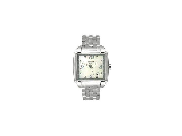 Tissot T-Classic Quadrato Silver Mother-of-pearl Dial Women's watch #T005.510.11.117.00