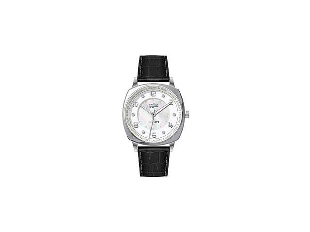Lacoste Sportswear Collection Palma Leather Strap White Dial Women's watch #2000603