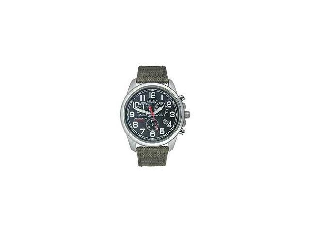 Citizen Eco-Drive 3-hand Chronograph Mens watch #AT0200-05E