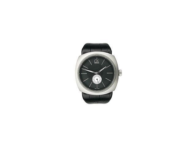 Calvin Klein Men's Two-hand Leather Strap watch #K9712102