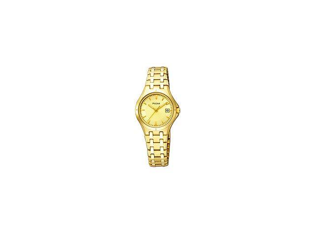 Pulsar Dress Collection Champagne Dial Women's watch #PXT830