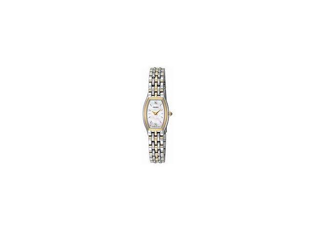 Seiko Diamond Bracelet Small Mother-of-Pearl Dial Women's Watch #SUJG16