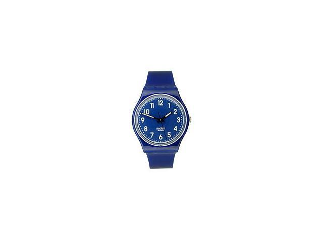 Swatch Color Codes Up-Wind Blue Plastic Unisex Watch GN230