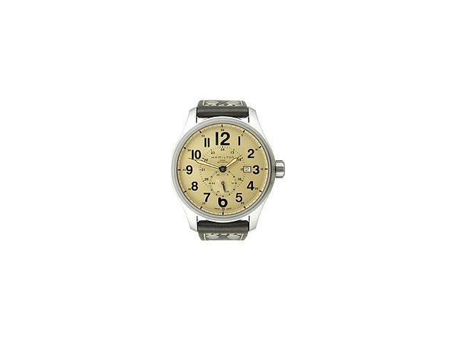 Hamilton Khaki Field Officer Small Second Yellow Dial Men's Watch #H70655723