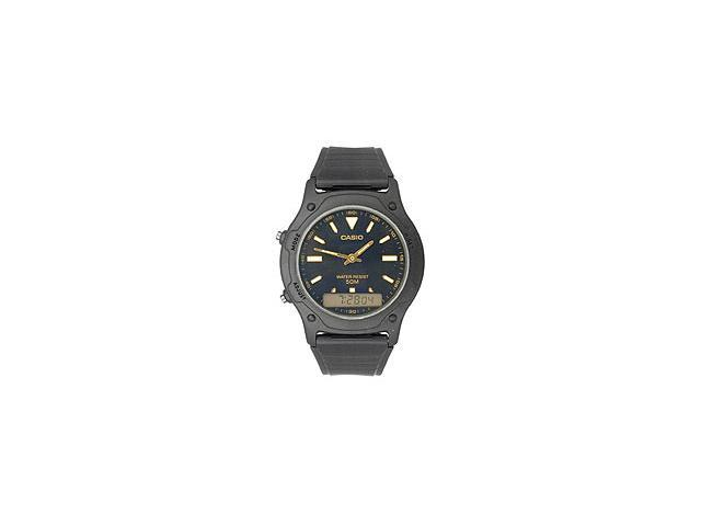 Casio AW49HE-1AV Casual Classic Men's Analog & Digital Dual Time Watch - Black