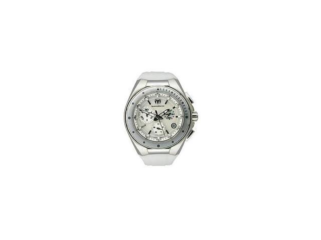 Technomarine Steel Regular Mother of Pearl Dial Chronograph Unisex Watch 110005