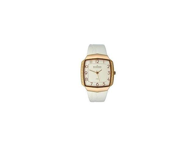 Skagen Women's Three-hand Square watch #645SRLW4