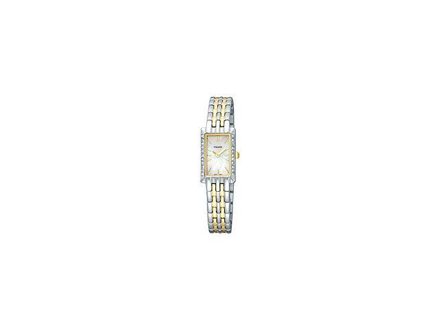 Pulsar Crystal Collection Mother-of-pearl Dial Women's watch #PEGE77