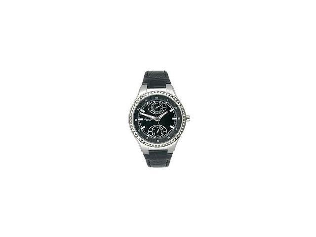 Kenneth Cole New York Leather Collection Black Dial Womens watch #KC2586