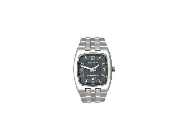 Kenneth Cole New York Steel Bracelet Black Dial Men's watch #KC3474