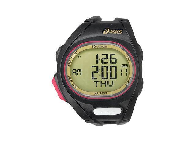 Asics Race Super - Black/Gold Men's watch #CQAR0207