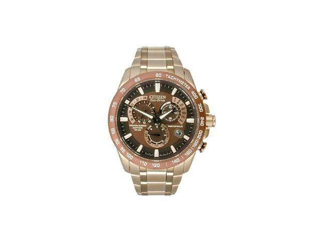 Citizen Eco-Drive Perpetual Chrono A-T Mens watch #AT4106-52X