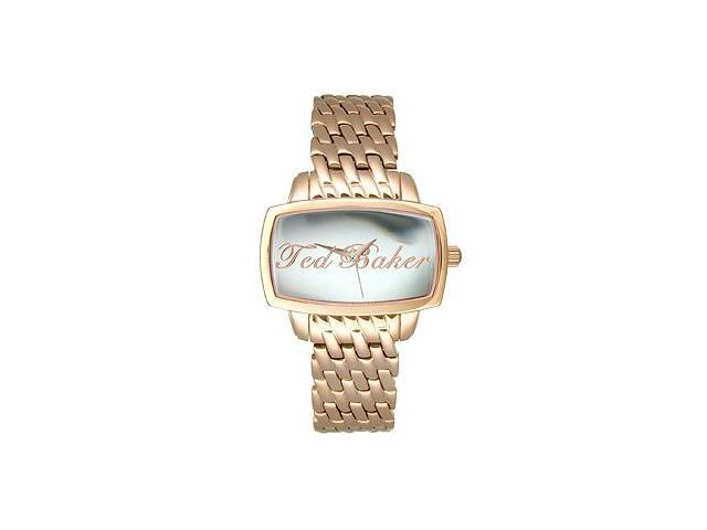 Ted Baker Rose-Gold Stainless Steel Women's watch #TE4023