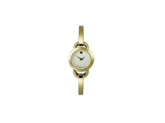 Movado Rondiro Two-Hand Gold Stainless Steel Womens watch #0606889