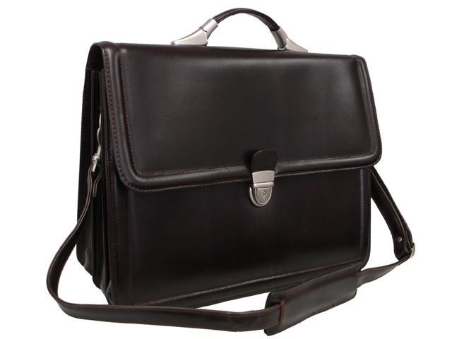 APC Savvy Leather Executive Briefcase (#2840-4)