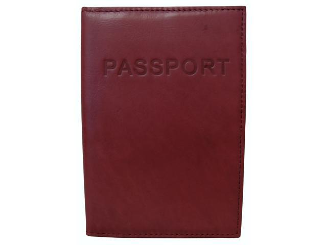 Luxurious Leather Passport Holder (#310-5)