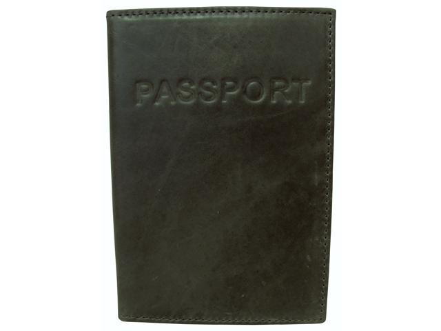 Luxurious Leather Passport Holder (#310-6)