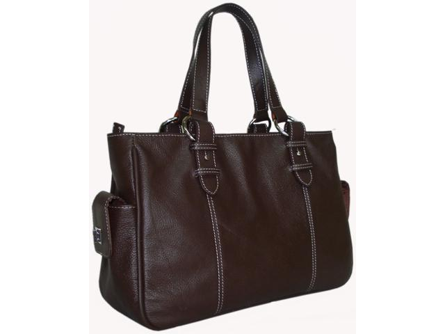 Sophisticated Leather Shopper Bag (#1831-4)