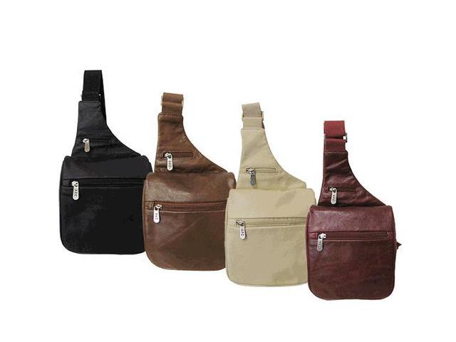 Leather Convenient Travel Bag (#1811-2)