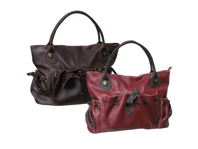 Amerileather Thalia Leather Handbag--3-Color (#1803-148)
