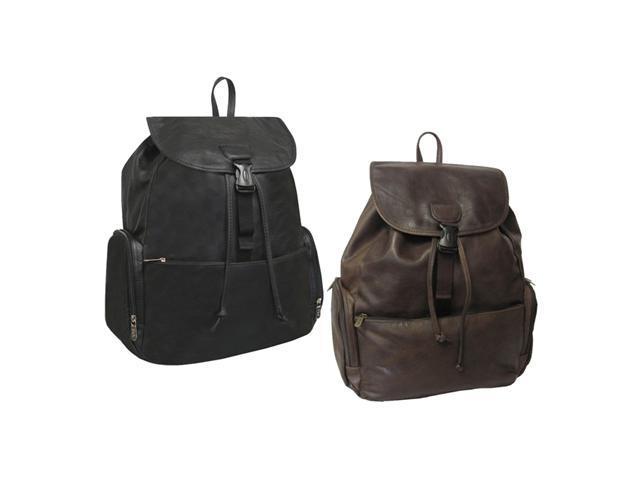 Jumbo Leather Backpack (#1518-03)