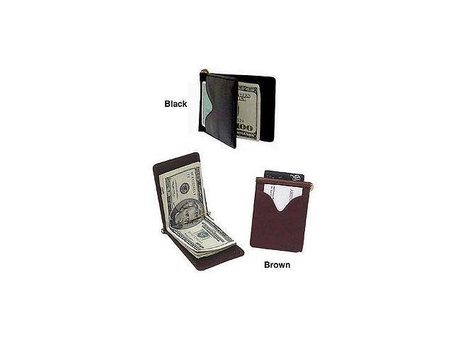 Leather Money Clip (#98308-02)