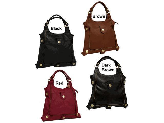 Amerileather Universal Large Leather Shoulder Bag (#1843-0124)