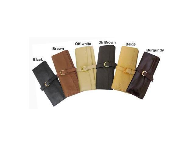 Leather Jewelry Roll (#530-023456)