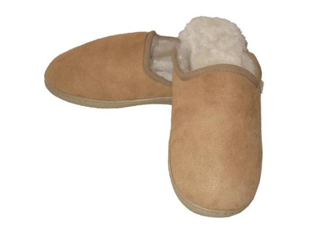 Genuine Shearling House Slippers - Unisex