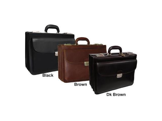 Amerileather Modern Attache Leather Executive Brief (#2891-024)