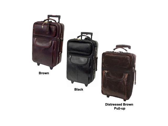 Leather Expandable Carry On Pullman (#88-0)