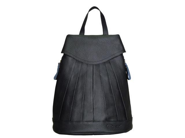 Amerileather Pleated Mini-Backpack (#1517-0)