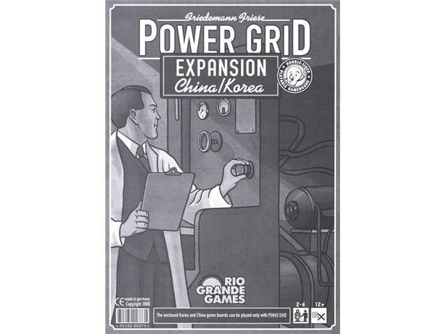 Power Grid: China/Korea Expansion