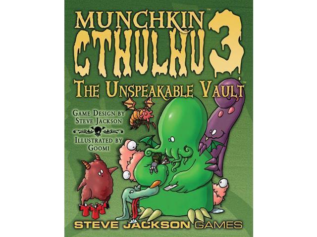 Munchkin Cthulhu 3: The Unspeakable Vault