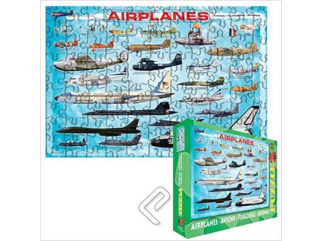 Airplanes Large Box 100 Piece Puzzle by Eurographics