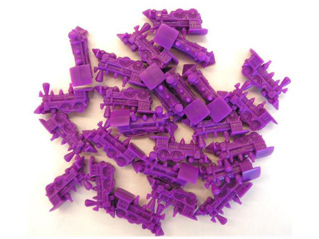 Purple Train: Game Pieces