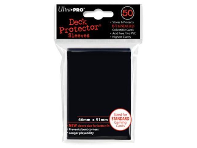 Deck Protector Sleeves: 50 Black