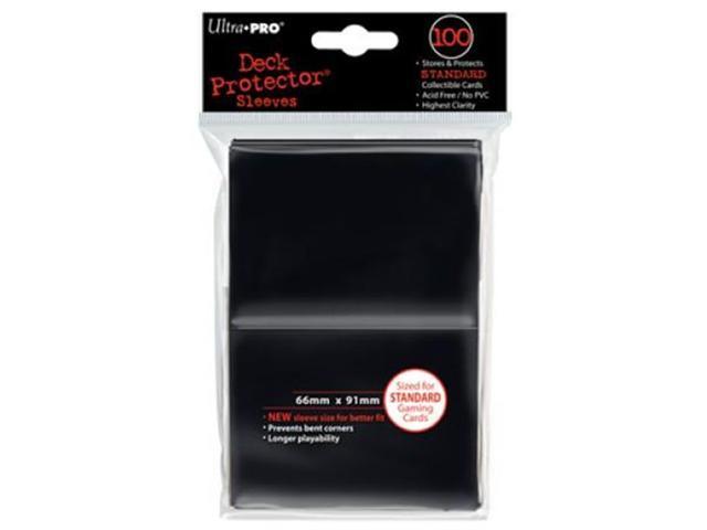 Deck Protector Sleeves: 100 Black