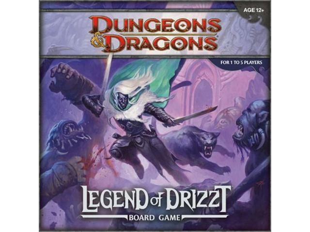 D and D: Legend of Drizzt