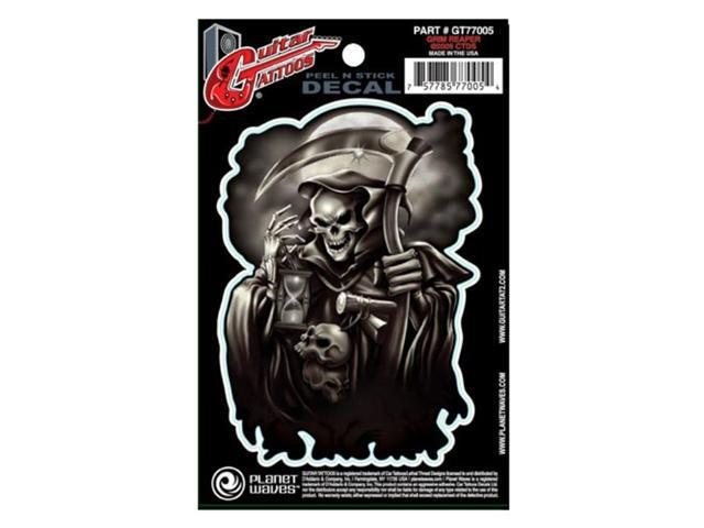 Planet Waves Guitar Tattoo - Grim Reaper