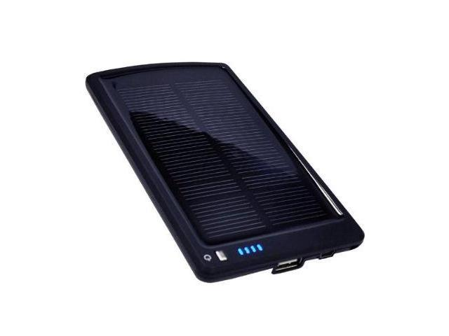 Opteka BP-SC4000 4000mAh Ultra Thin Solar Powered High Capacity Backup Battery Charger + 10 Charging Tips