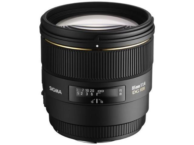 Sigma 85mm f/1.4 EX DG HSM Lens For Nikon