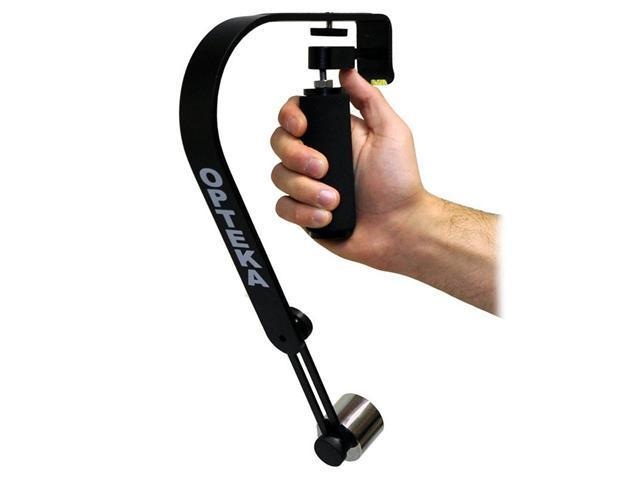 Opteka SteadyVid EX Video Stabilizer for Compact Digital Cameras, Camcorders and DSLR's (up to 2.1 lbs)