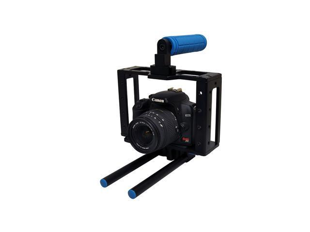 Opteka CXS-500 X-Cage Pro with Handgrip and Rail System (for all DSLR cameras)