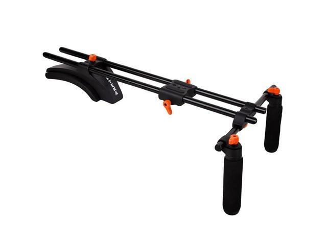 Opteka CXS-300 Dual-Grip Video Shoulder Stabilizer Support System for DSLR Cameras & Camcorders