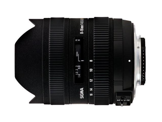 Sigma 8-16mm f/4.5-5.6 DC HSM FLD AF Ultra Wide Zoom Lens for APS-C sized Canon Digital DSLR Camera