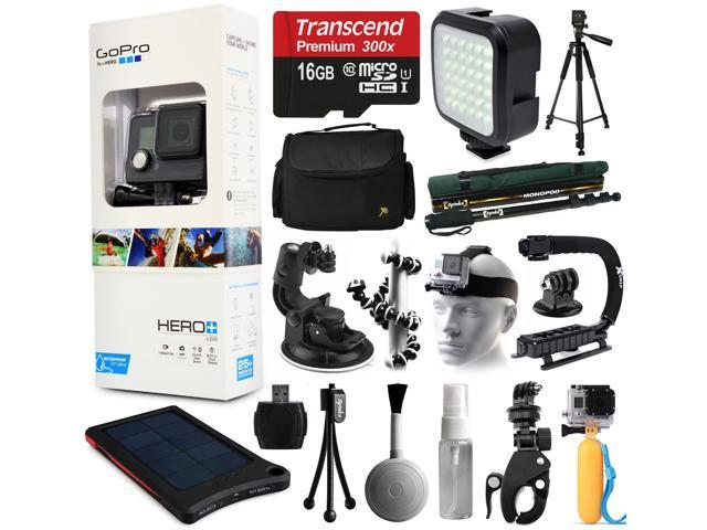 gopro hero lcd camera camcorder chdhb 101 with extreme accessories bundle includes 16gb card. Black Bedroom Furniture Sets. Home Design Ideas